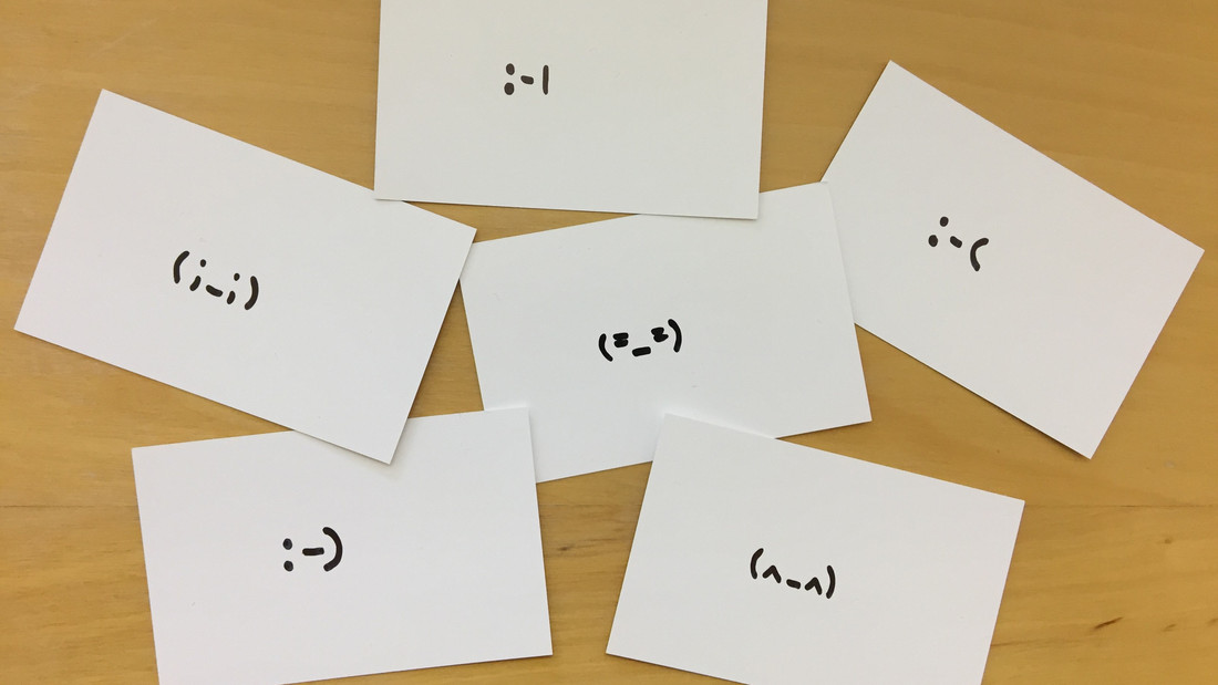 Emoticons aus Japan und den USA