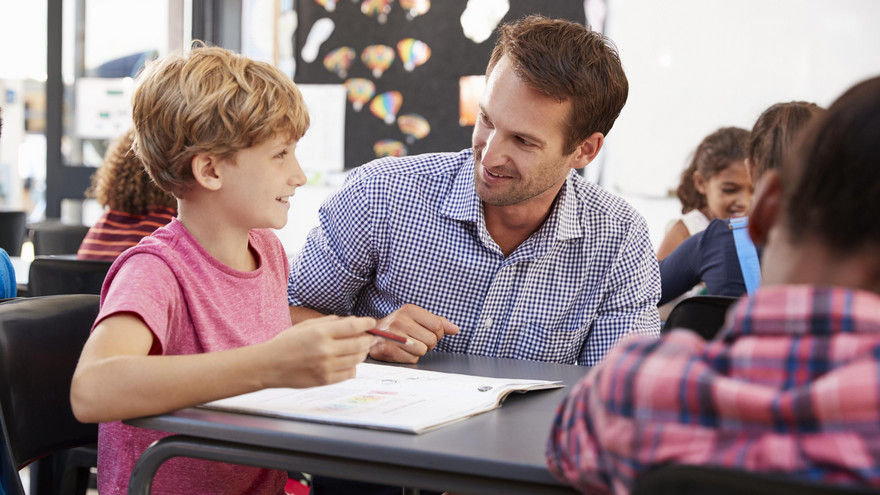 Lehrer Schlägt Schüler