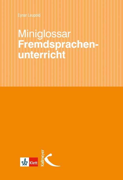 Miniglossar Fremdsprachenunterricht