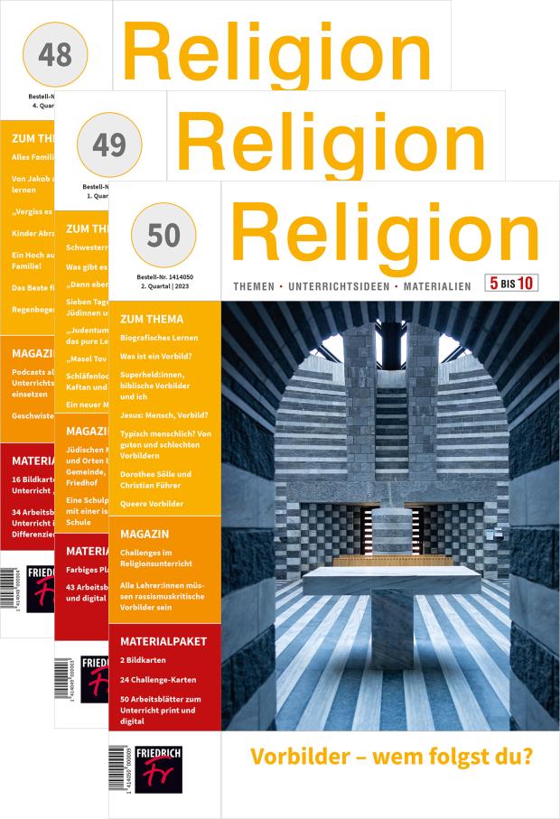Religion 5-10 - Jahres-Abo mit Prämie