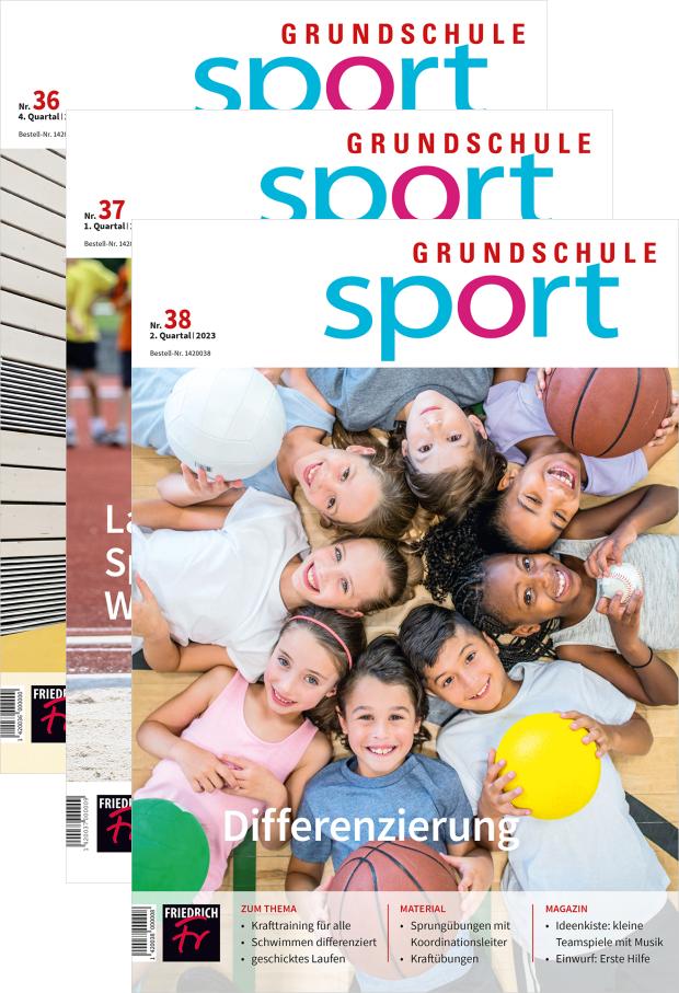 Zur digitalen Ausgabe: Grundschule Sport