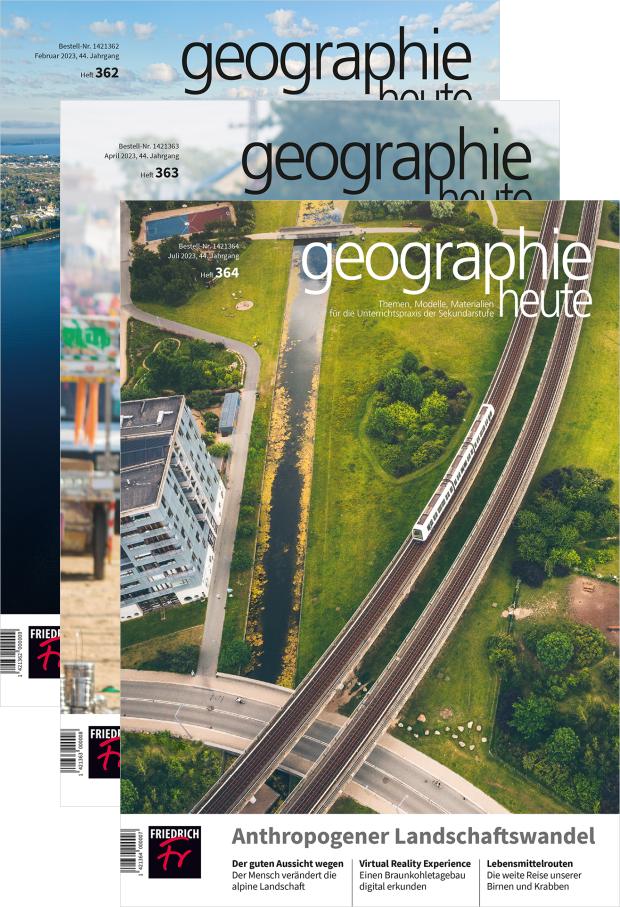 Zur digitalen Ausgabe: geographie heute
