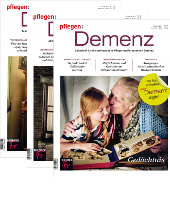 pflegen: Demenz - Probe-Abo + Prämiennement