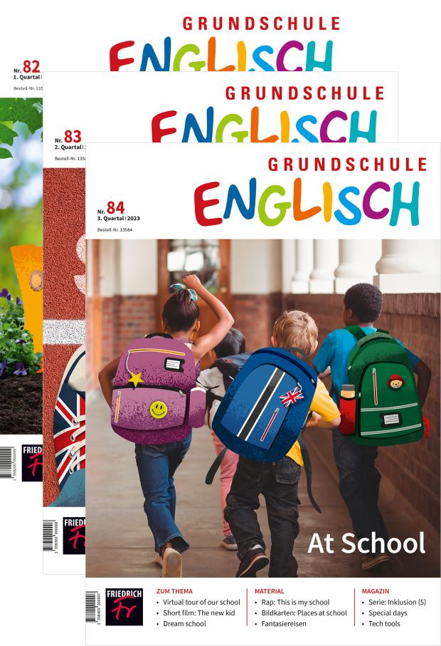Zur digitalen Ausgabe: Grundschule Englisch