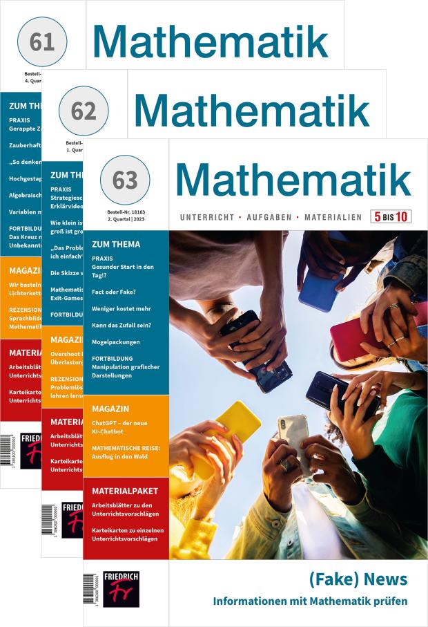 Mathematik 5-10 - Jahres-Abo mit Prämie