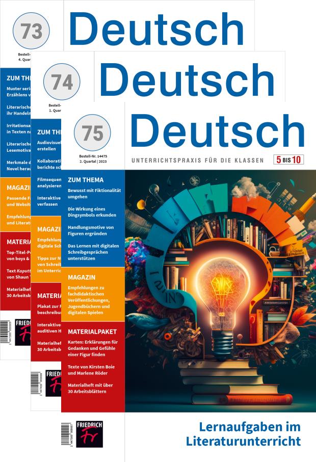 Zur digitalen Ausgabe: Deutsch 5-10