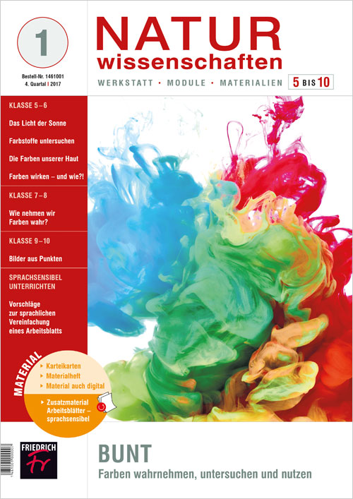 Bunt – Farben wahrnehmen, untersuchen und nutzen