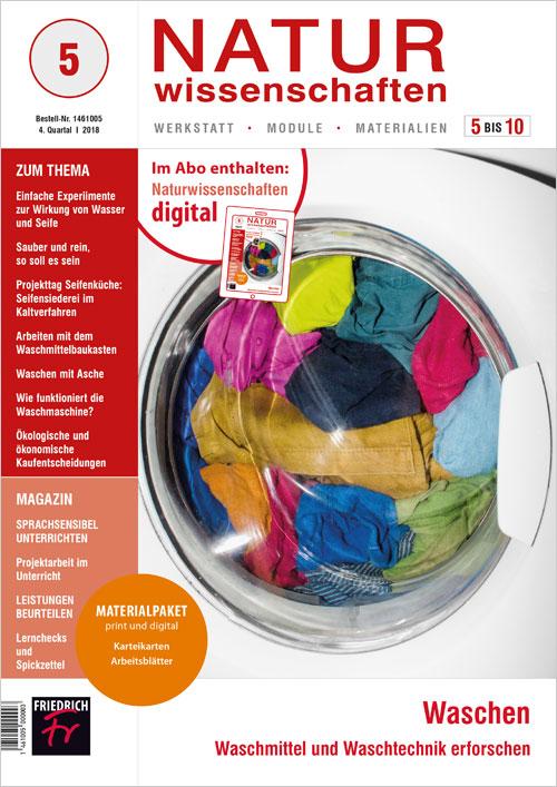 Waschen – Waschmittel und Waschtechnik erforschen