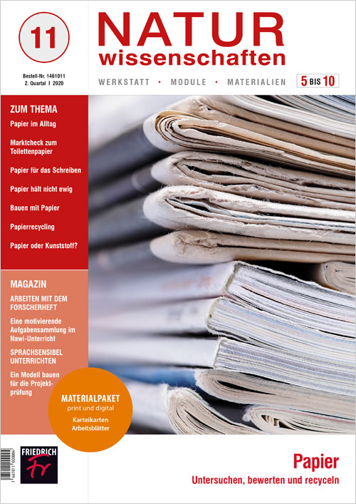 Papier – Untersuchen, bewerten und recyclen