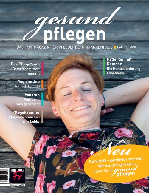 gesund pflegen - Jahres-Abonnement mit Prämie