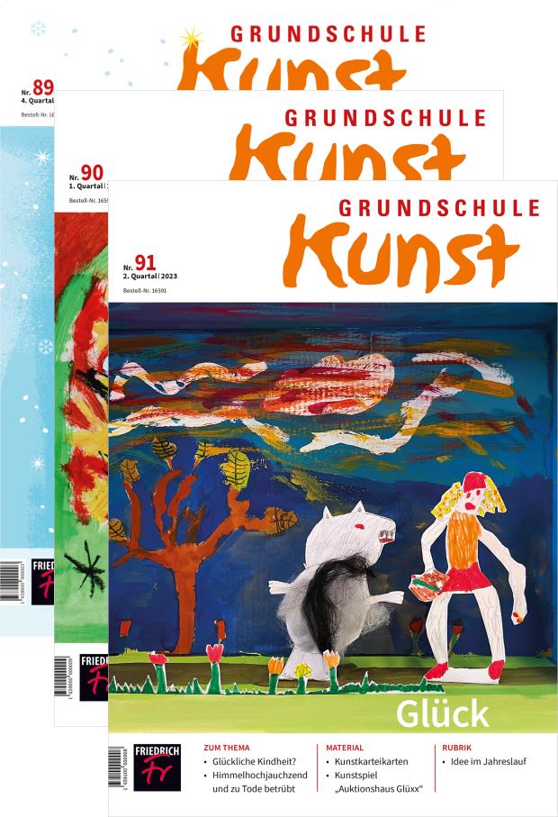 Zur digitalen Ausgabe: Grundschule Kunst