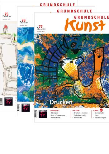 Grundschule Kunst - Jahres-Abo mit Prämie
