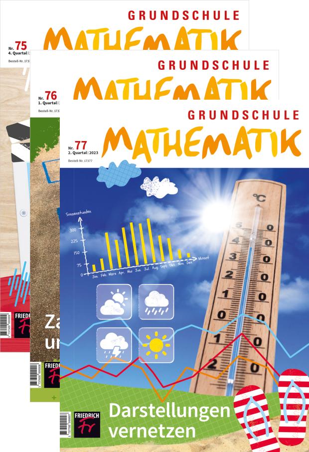 Grundschule Mathematik - Jahres-Abo mit Prämie
