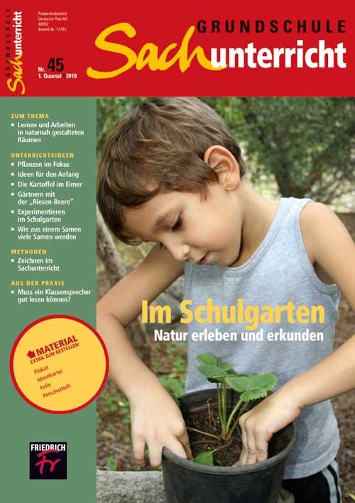Im Schulgarten: Natur erleben und erkunden