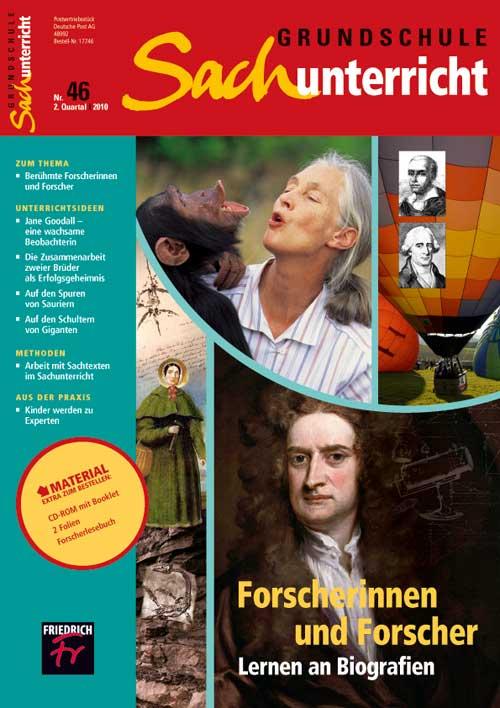 Forscherinnen und Forscher: Lernen an Biografien