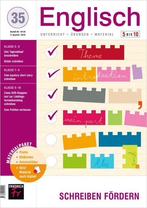 Schreiben Fördern Zeitschrift Englisch 5 10 Englisch