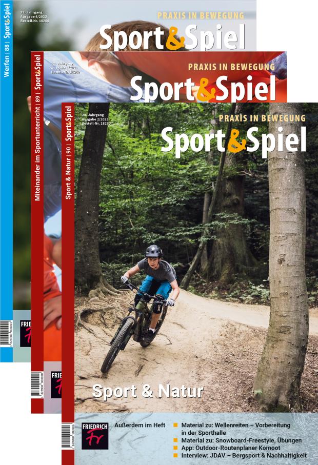 Sport & Spiel - Jahres-Abo mit Prämie