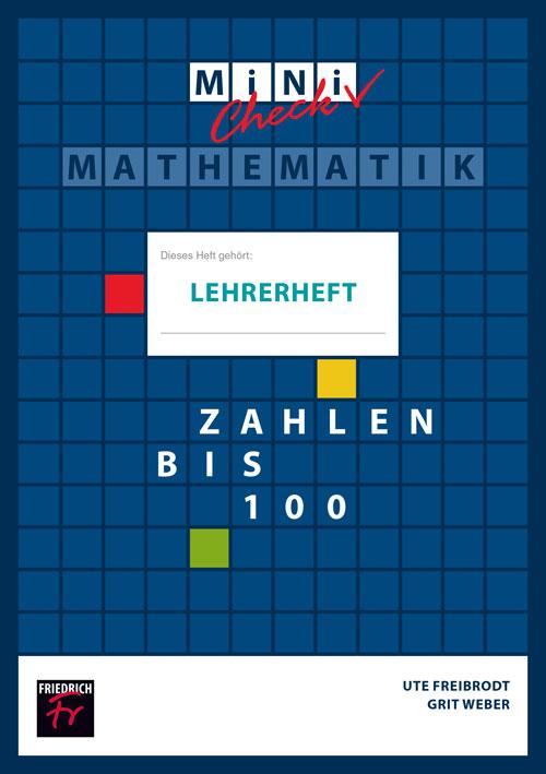 Mini-Check: Zahlen bis 100 (Lehrerheft mit Lösungen)