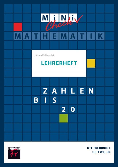 Mini-Check: Zahlen bis 20 (Lehrerheft mit Lösungen)