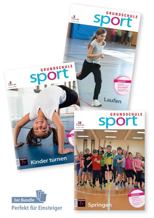 Sport unterrichten (Grundschule): Turnen, Laufen, Springen