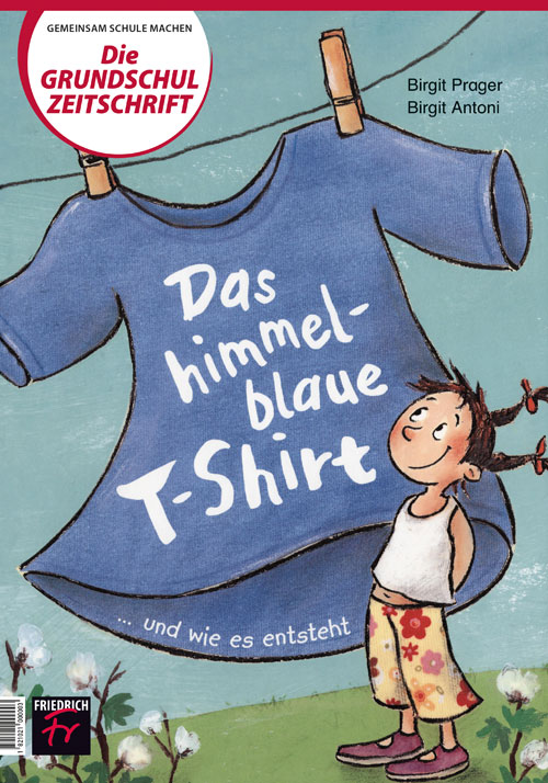 Das himmelblaue T-Shirt ... und wie es entsteht