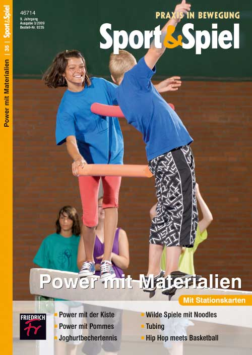 Power mit Materialien