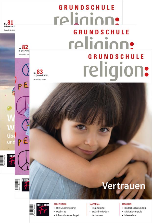 Zur digitalen Ausgabe: Grundschule Religion