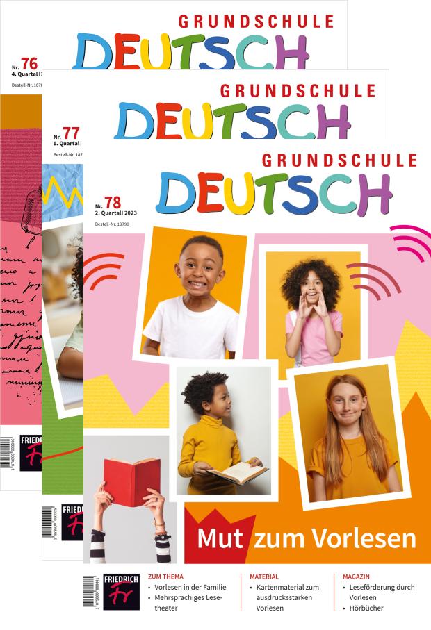 Grundschule Deutsch - Jahres-Abo mit Prämie