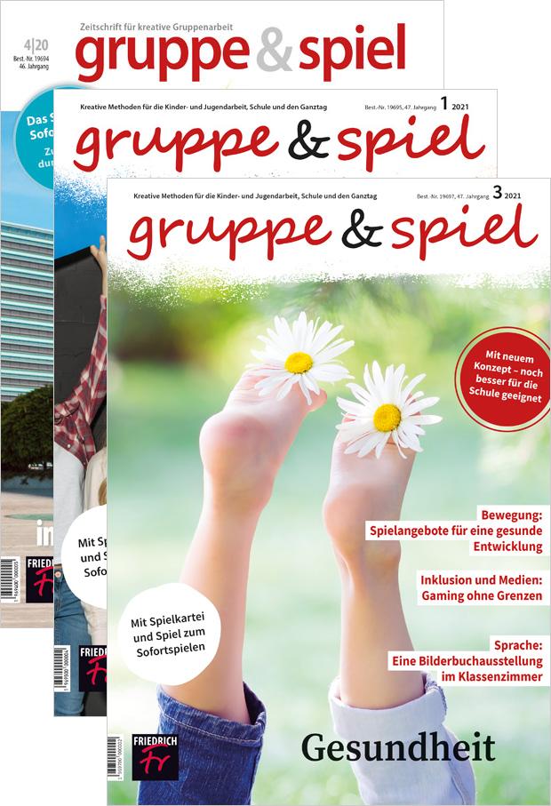 Zur digitalen Ausgabe: gruppe & spiel