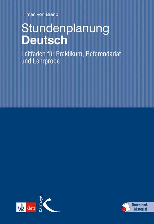 Stundenplanung Deutsch