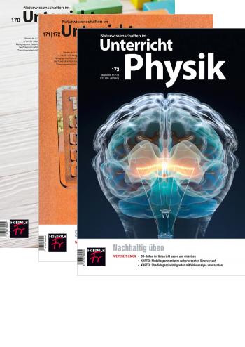 Unterricht Physik - Jahres-Abo mit Prämie