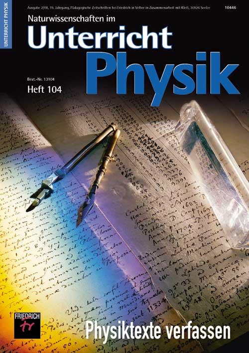 Physiktexte verfassen