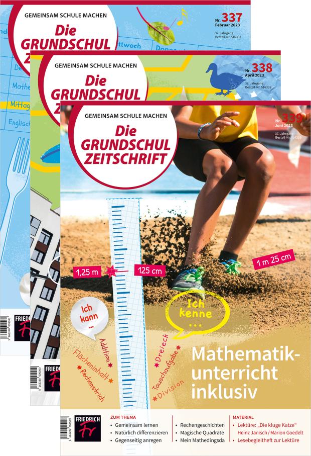 Die Grundschulzeitschrift - Jahres-Abo mit Prämie