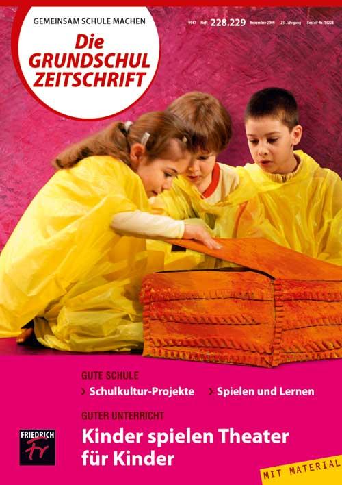 Kinder spielen Theater für Kinder