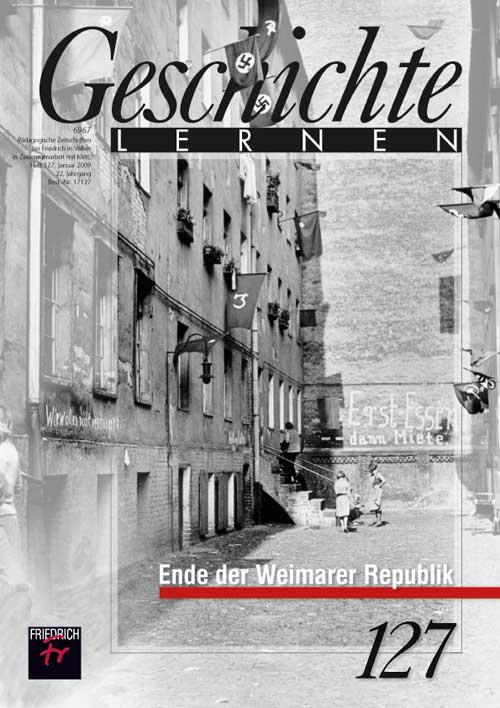 Ende der Weimarer Republik
