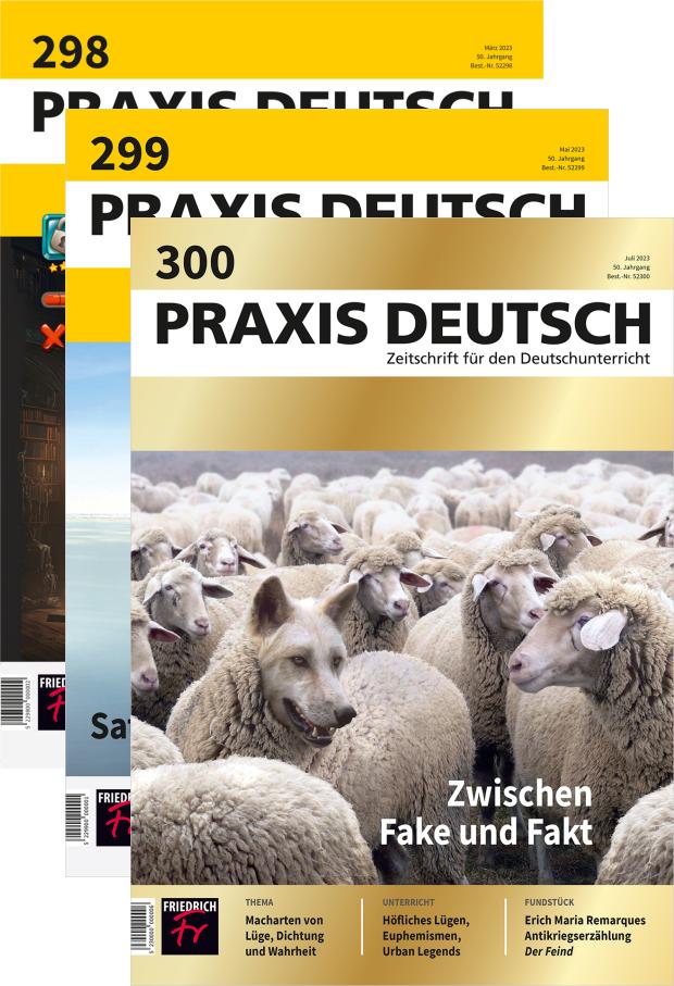 Zur digitalen Ausgabe: Praxis Deutsch