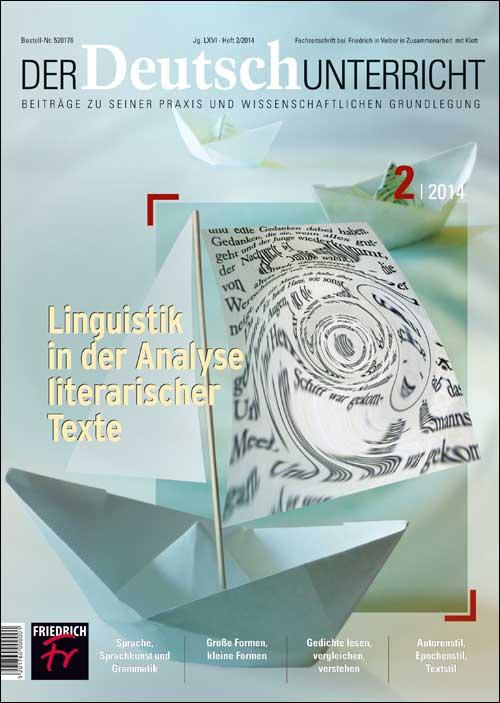 Linguistik in der Analyse literarischer Texte