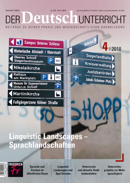 Linguistic Landscapes – Sprachlandschaften