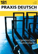 Zeitgenössische Theaterstücke