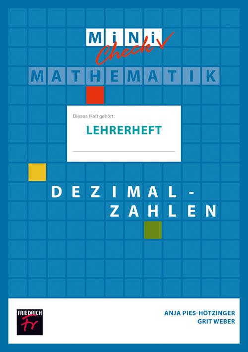 Mini-Check: Dezimalzahlen (Lehrerheft mit Lösungen)