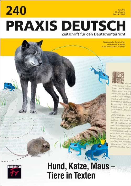 Hund, Katze, Maus – Tiere in Texten