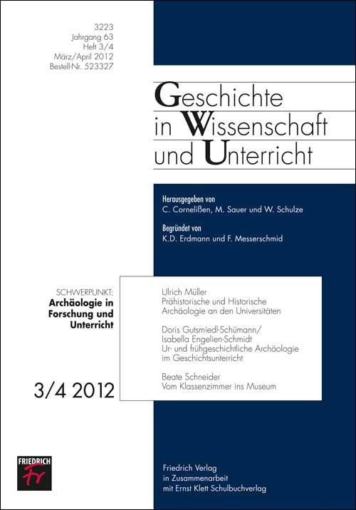 Archäologie in Forschung und Unterricht