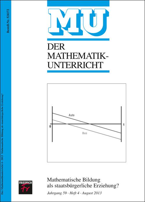Mathematische Bildung als staatsbürgerliche ..