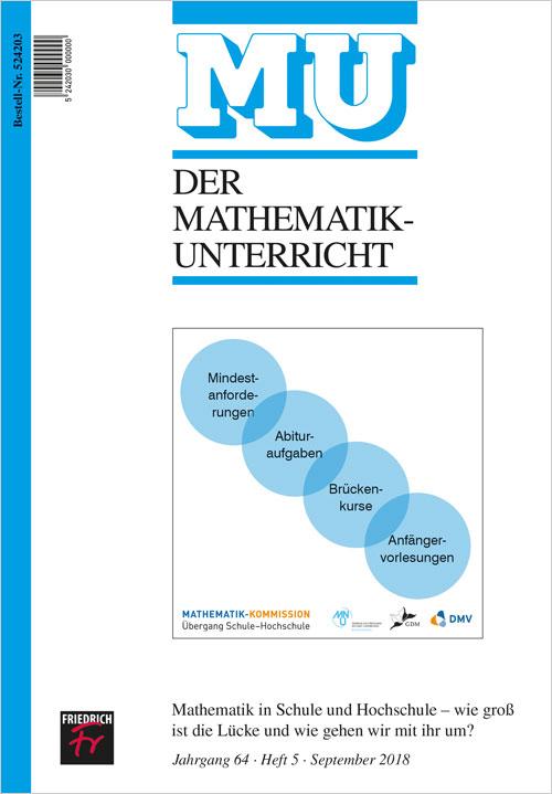 Mathematik in Schule und Hochschule