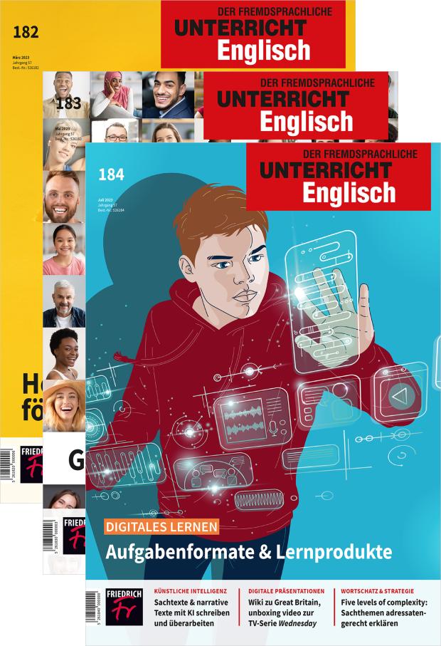 Zur digitalen Ausgabe: Unterricht Englisch