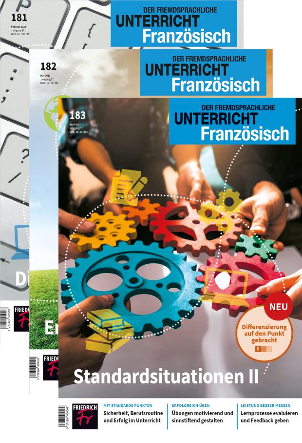 Zur digitalen Ausgabe: Unterricht Französisch