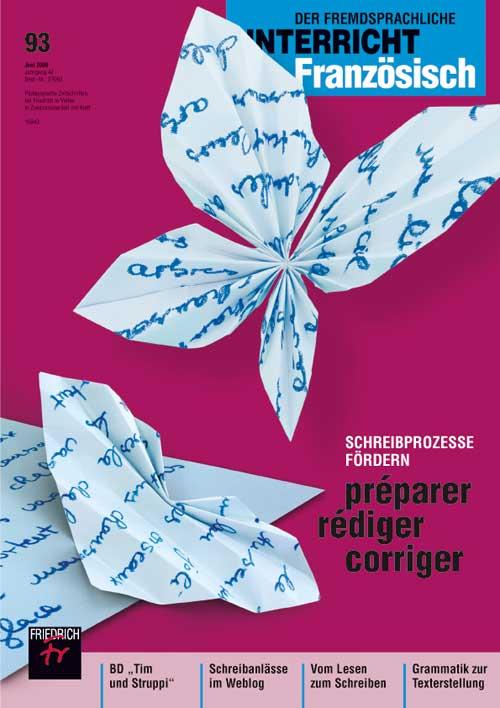 Schreibprozesse fördern: préparer-rédiger-corriger