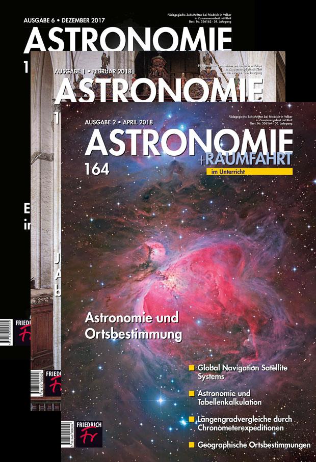 Astronomie und Raumfahrt - 3 Hefte Gratislieferung