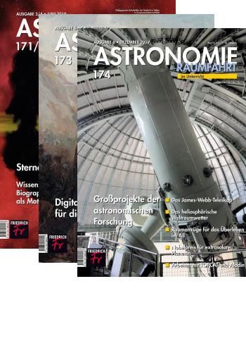 Astronomie + Raumfahrt - Jahres-Abo mit Prämie