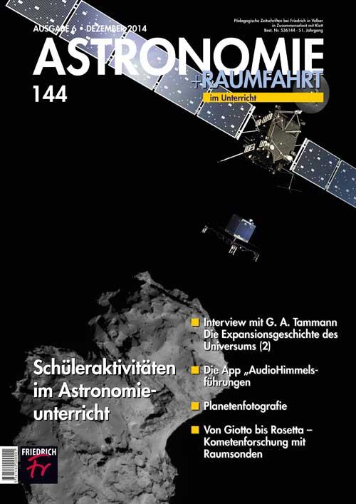 Schüleraktivitäten im Astronomieunterricht